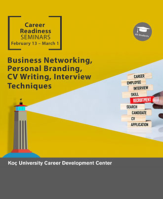 Career Readiness Seminars: Business Networking, Personal Branding, CV Writing, Interview Techniques