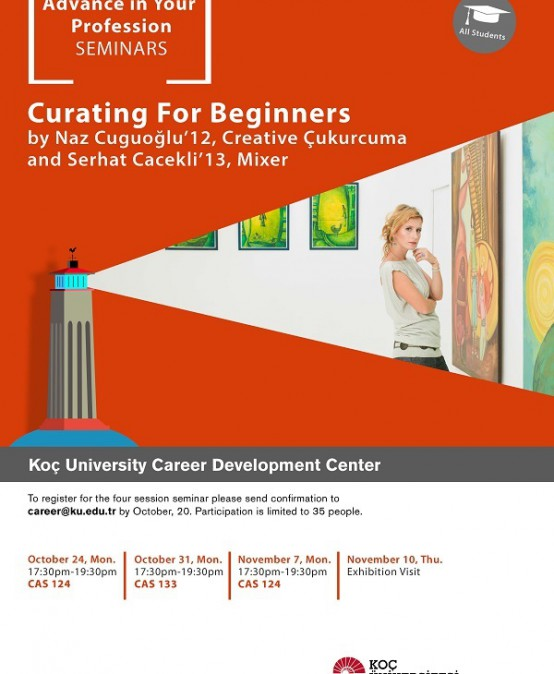 Advance in Your Profession Seminars   Curating for Beginners 2016