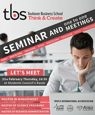 Toulouse Business School Semineri