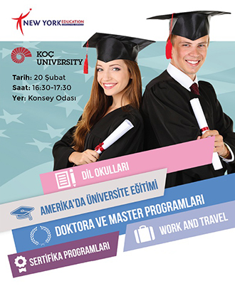 Amerika'da Eğitim ve Staj Semineri by NewYork Education