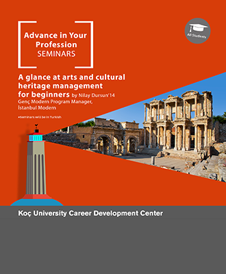 Advance in Your Profession Seminars   A Glance at Arts and Cultural Heritage Management 2017