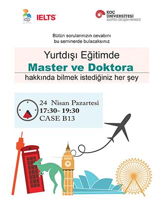IDP Yurtdışı Eğitimde Master ve Doktora