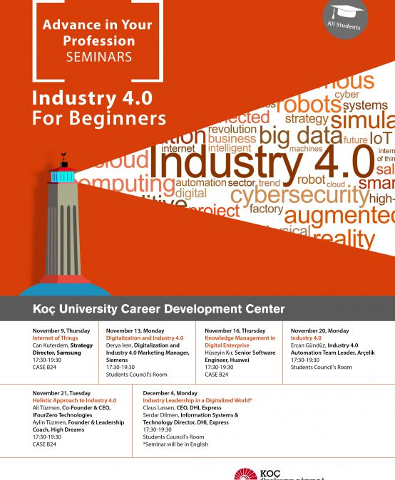 Advance in Your Profession Seminars   Industry 4.0 for Beginners 2017