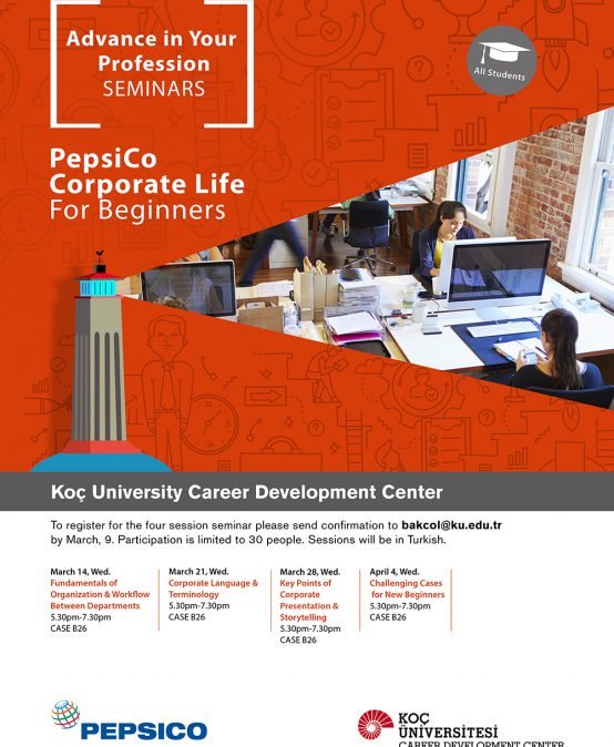 Advance in Your Profession Seminars   Corporate Life for Beginners 2018