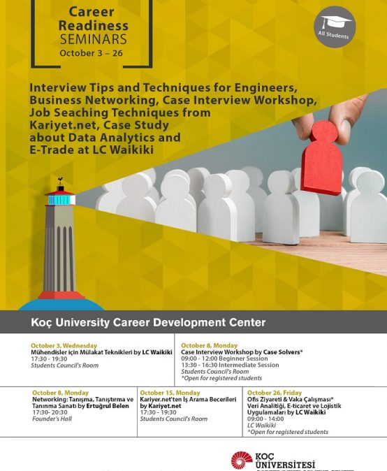 Career Readiness Seminars | Fall 2018
