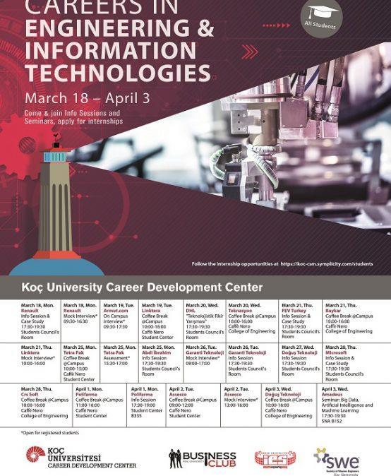 Careers in Engineering & Information Technologies 2019