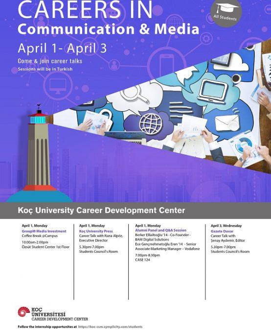 Careers in Communication & Media 2019