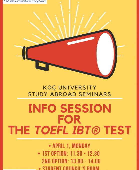 Info Session for the TOEFL iBT® Test