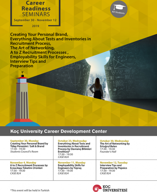 Career Readiness Seminars | Fall 2019