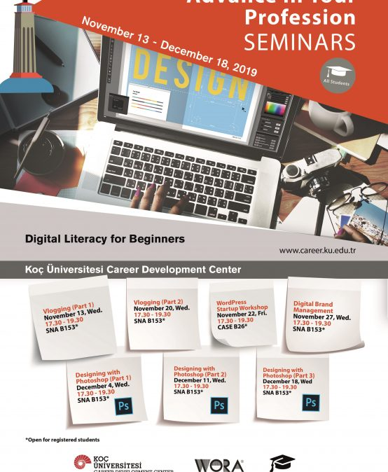 Advance in Your Profession Seminars | Digital Literacy for Beginners 2019
