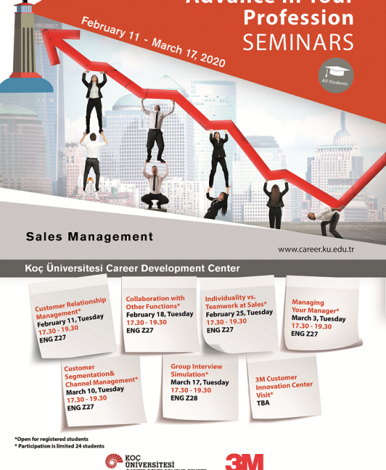 Advance in Your Profession Seminars | Sales Management 2020