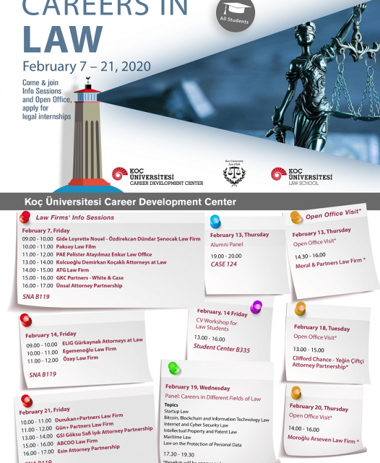 Careers in Law 2020