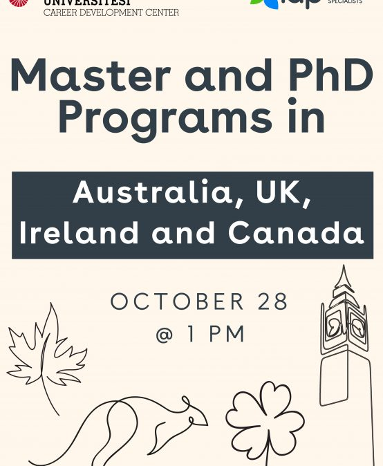 Study Abroad Seminars – Q&A – Master and PhD Programs in Australia, UK, Ireland and Canada