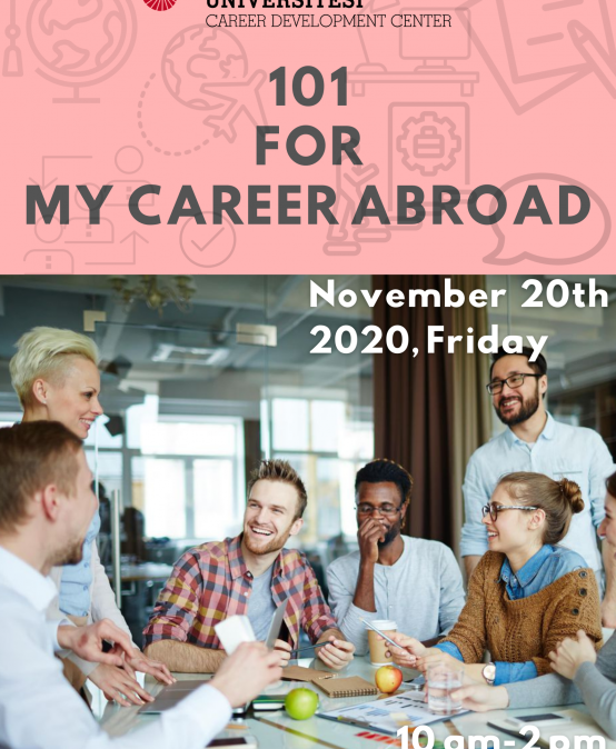 101 for My Career Abroad 2020