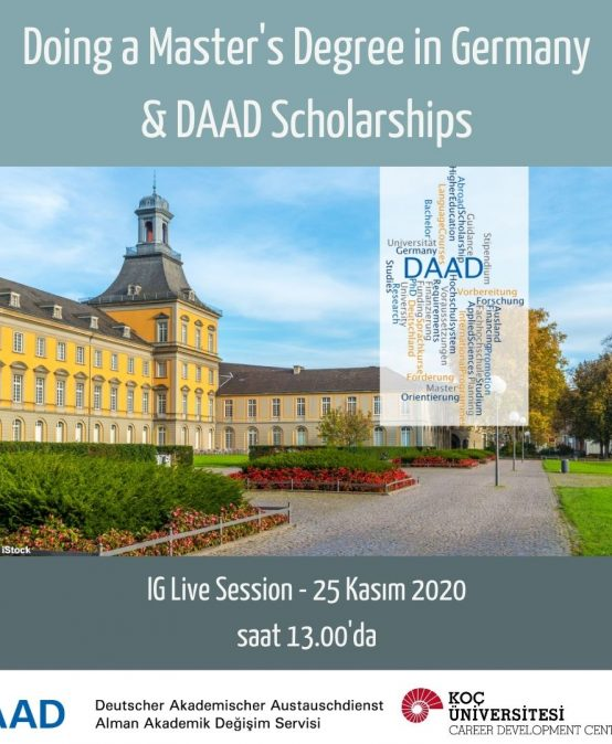Study Abroad Seminars – Doing a Master's Degree in Germany & DAAD Scholarships