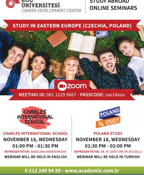 Study Abroad Seminars – Study in Eastern Europe (Czech Republic, Poland)