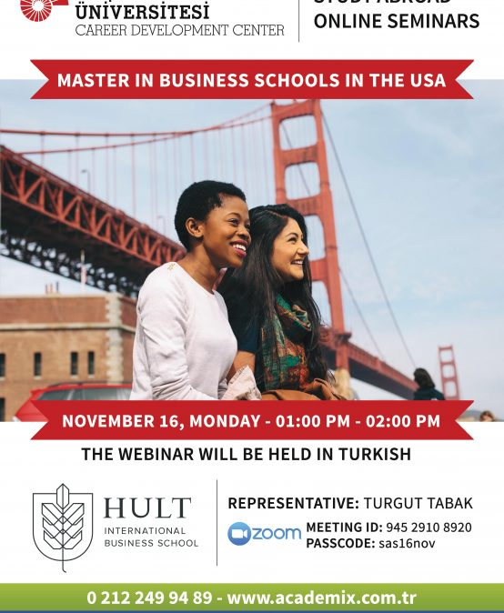 Study Abroad Seminars – Master in Business Schools in the USA