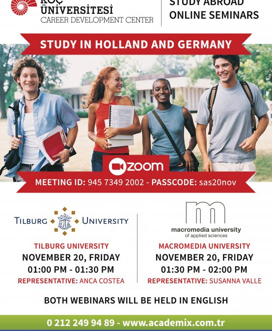 Study Abroad Seminars – Study in Holland and Germany