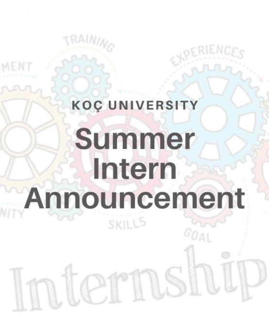 Summer Intern Announcement