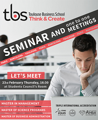 Toulouse Business School Semineri